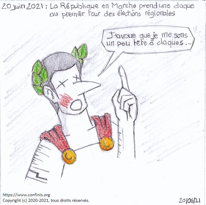 20 juin 2021 : La République en Marche prend une claque aux élections régionales