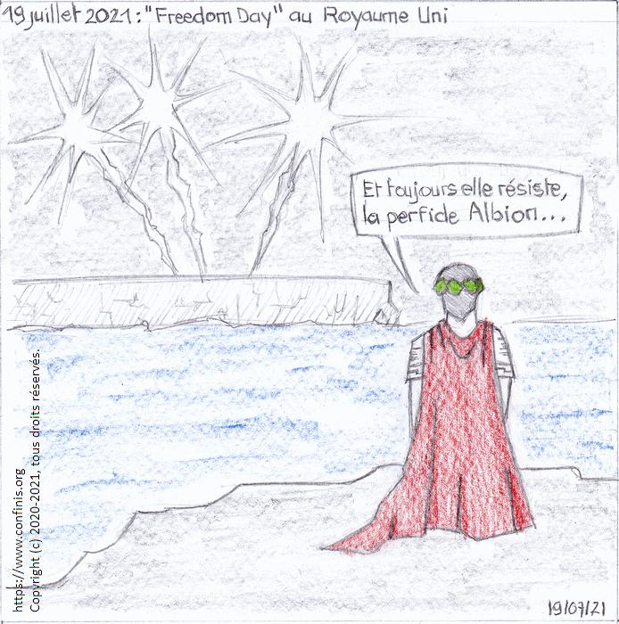 """19 juillet 2021 : """"Freedom Day"""" au Royaume-Uni"""