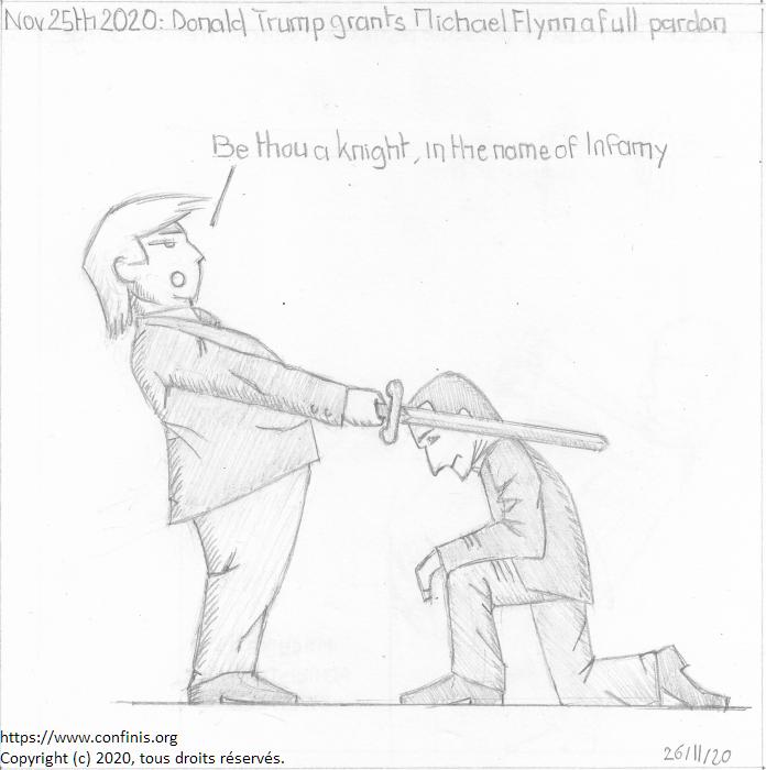Nov. 25th 2020: Donald Trump grants Michael Flynn a full pardon