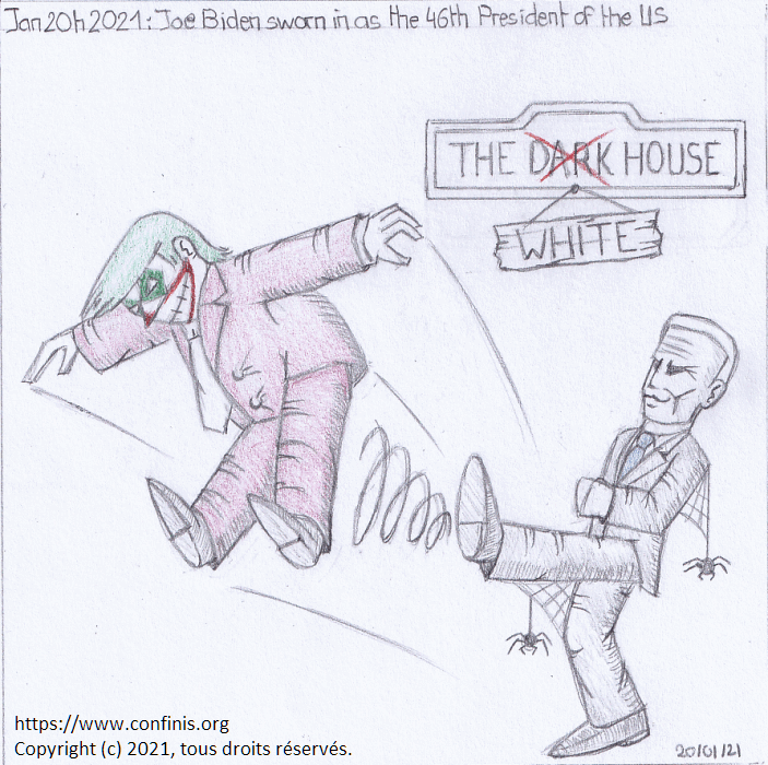 Jan. 20th 2021: Joe Biden sworn in as the 46th President of the US